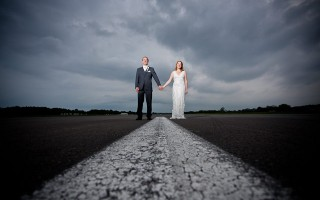 Race cars, Aeroplanes, a VW Camper van and a unique location, awesome! Nancy and Rich's wedding was just what they wanted it to be and they managed to bring their personalities, their dogs, their loves and Nancy's office (yup, she works at Dunsfold Park where they film the Top Gear shows) to the party.  Nancy's beautiful lace Allure dress looks beautiful and her gorgeous locks looked stunning. I also love the DIY […]