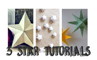 While I was putting together the star mood board, I came across some amazing star DIYs which I wanted to share. These stars can either be fantastic room decorations or perfect little stars for your tables. You could even try them out for Christmas. We decorated our office by making massive versions of Annekata's Super Simple Stars below and they looked brilliant.   For the full tutorials check out the Minna May, Annekata and The […]