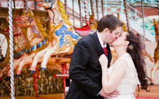 Hello lovely SYW readers! Today I have a fun filled Brighton wedding for you thanks to wonderful Erika at PhotoMadly.   You know its going to be full of vibrance when the wedding preparations start at the colourful Hotel Pelirocco. Kathryn and Lee were lucky enough to even get a few shots on the beach, which is a must if you are getting married near the sea side. Its great to see bold […]