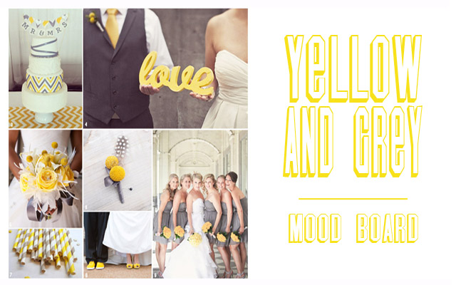 Yellow is such a cheerful colour, that always invokes a smile and the reminder of warm, delightful sunshine. Grey is elegant, smooth and contemporary. The combination of the two is a perfect one and they make for a really beautiful palette for your wedding. Two of our closest friends are getting married next year and they have chosen these modern and fun colours. Today's mood board is in celebration of their day to […]
